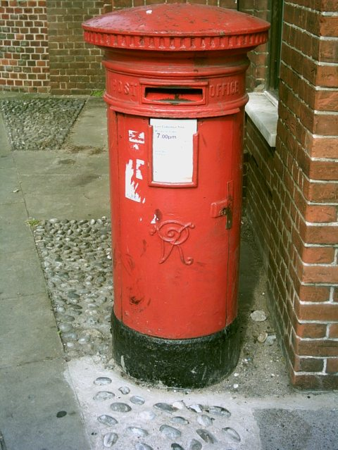 VR Pillar Box, Prince of Wales Rd, Norwich