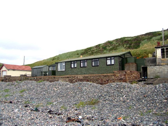 Beach bungalow, Braystones Beach