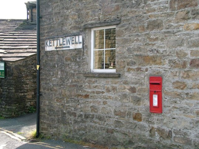 Post Box and Road Sign, Gayle