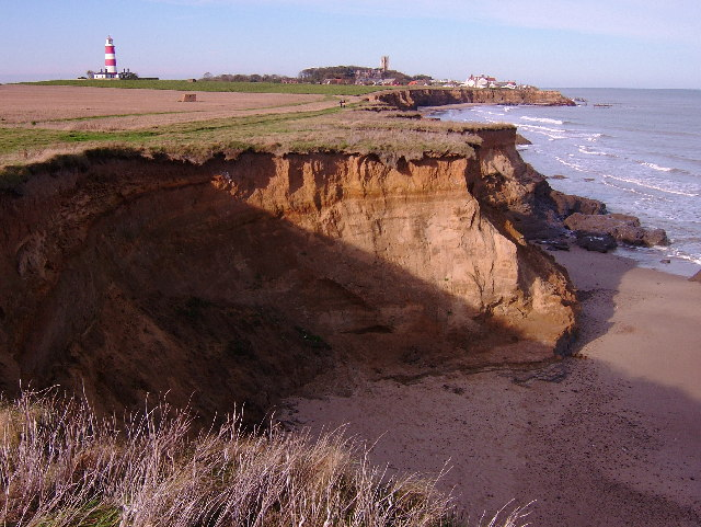 Happisburgh and eroding cliffs
