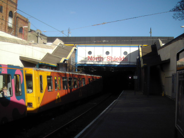 North Shields Metro Station