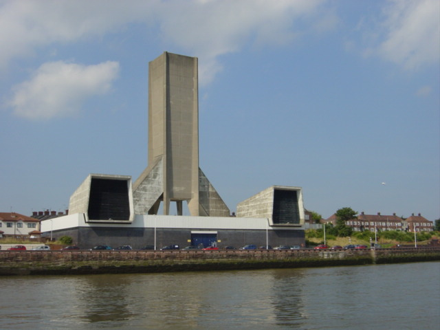 Mersey Tunnel Ventilation Shaft