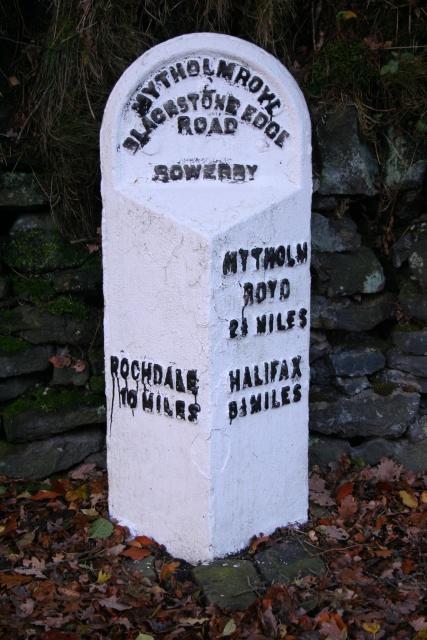 Milestone, Blackstone Edge Road