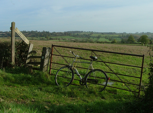 Bicycle at Brailes
