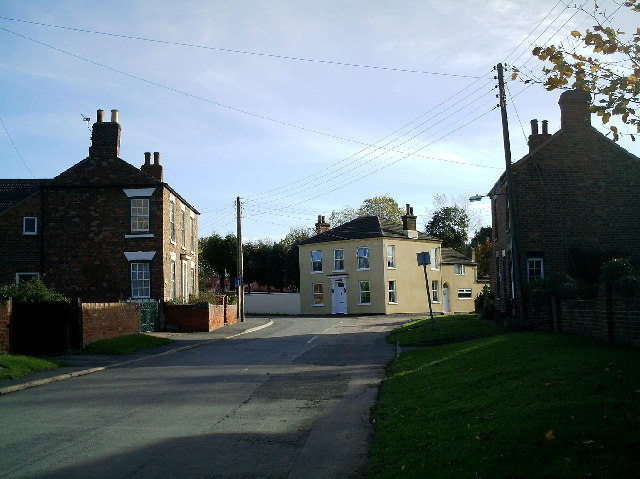 Low Burnham village