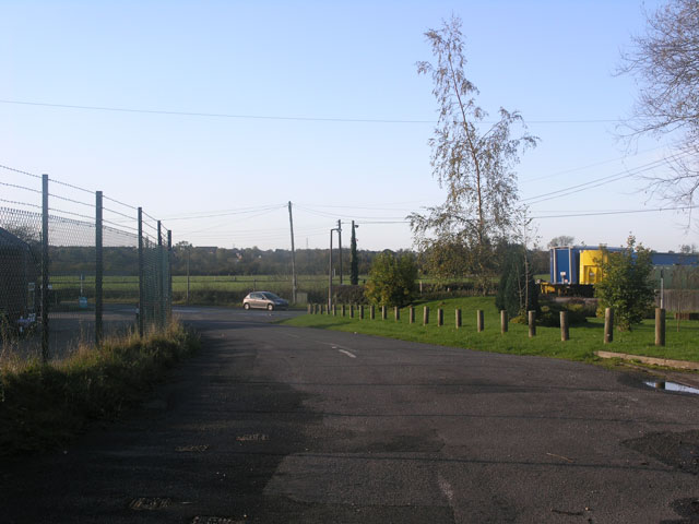 Site of UK's first Automatic Half Barrier level crossing, Spath, Staffordshire