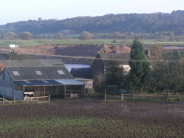Farm buildings near Uttoxeter