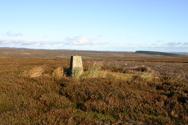Eggleston Moor trig
