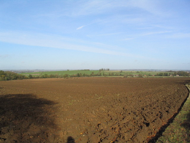 Ploughed field, south of Leesthorpe