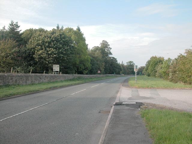 Near the castle