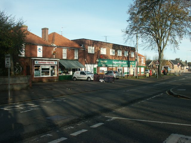 Local shops, Earlham