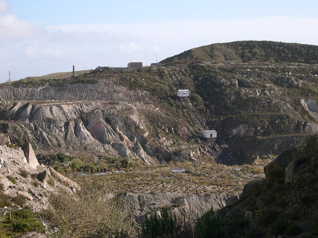 Great Carclaze China Clay Works - disused