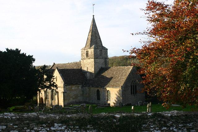 Sapperton church