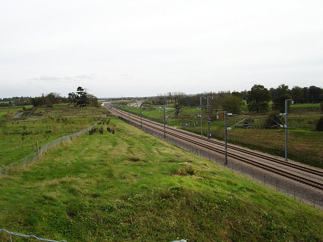 Channel Tunnel Rail Linkcuts across Chilston Park
