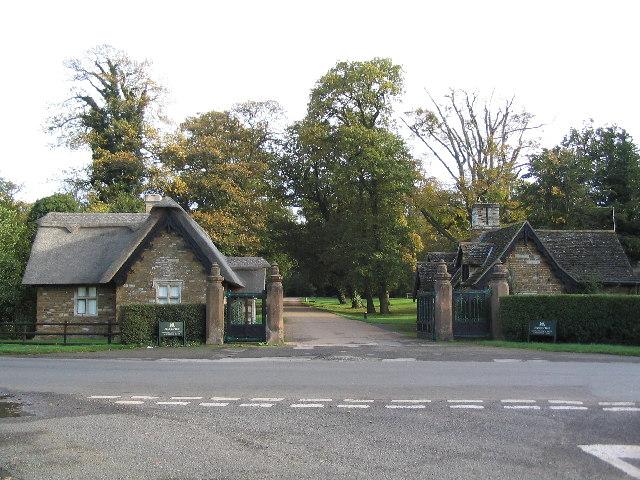 Gatehouses at entrance to Stapleford Park