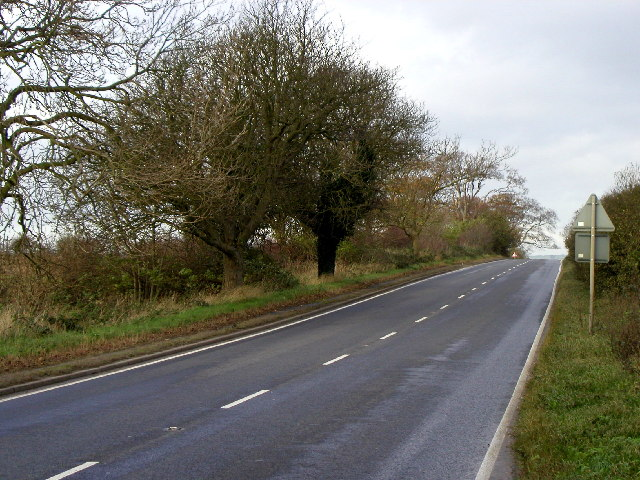 The road to Market Weighton