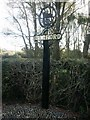 TG1107 : Barford village sign by Katy Walters
