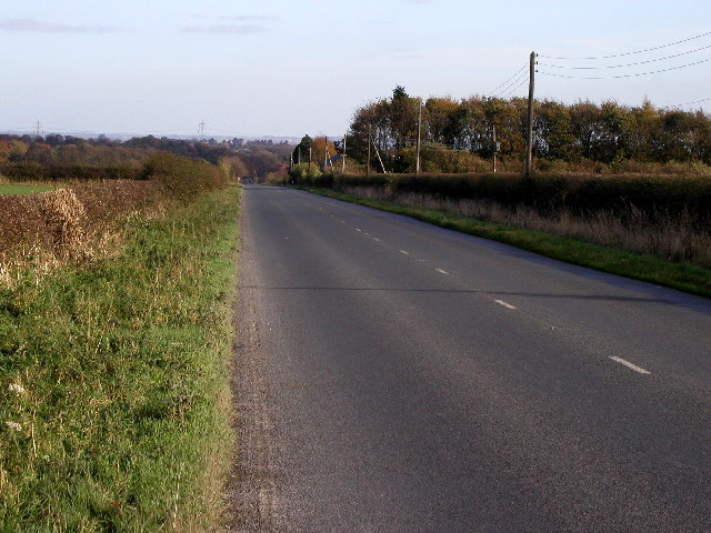 The road to Walkington