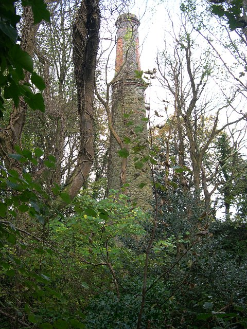 Mine Chimney at Wheal Eliza Consols