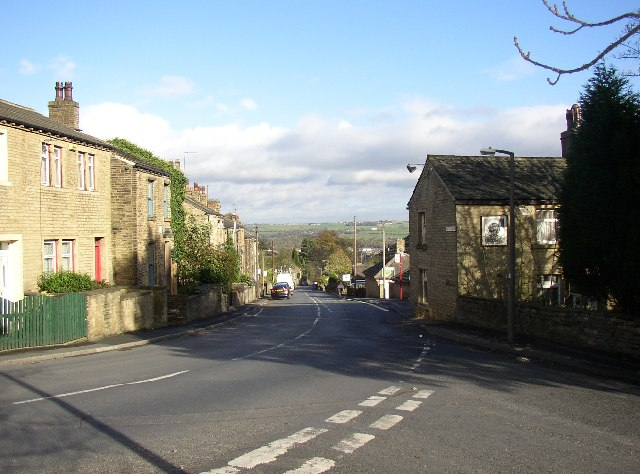 Top end of Tofts Grove, Rastrick