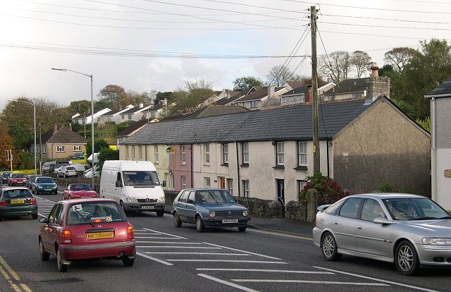 Roadside Houses at Holmbush, St Austell