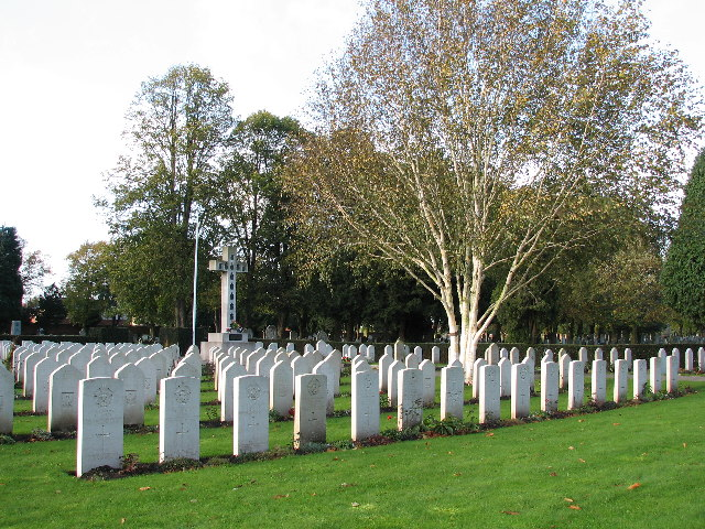Polish War Section Of Newark Cemetery