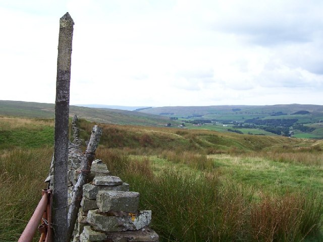 Old Boundary Wall looking Northish