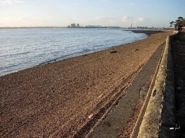Shingle and shell beach