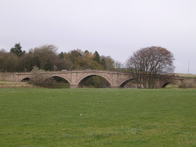 Hyndford Bridge, River Clyde