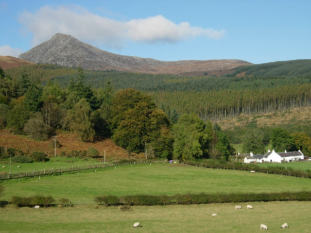 Goatfell from near Glenrosa farm