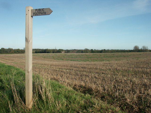 Footpath, Downham