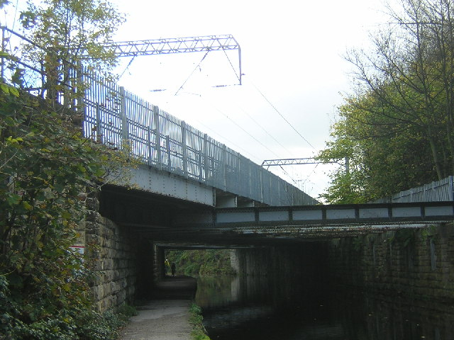 Railway Bridge over the Leeds and Liverpool Canal