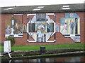 SE2833 : Mural by Oddy 2 Locks by Mark Morton