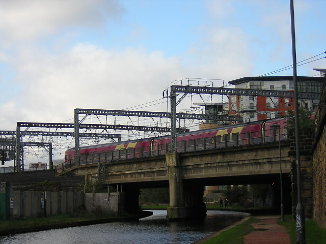 Railway Bridge into Leeds station