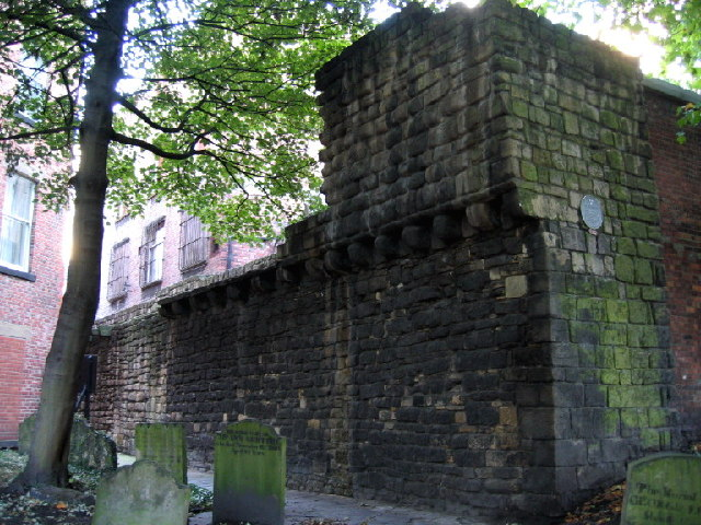 City Wall, St.Andrew's Churchyard