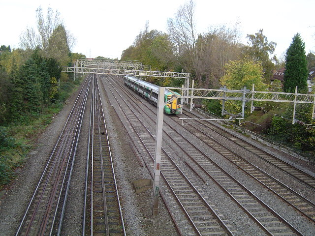 West Coast Main Line railway
