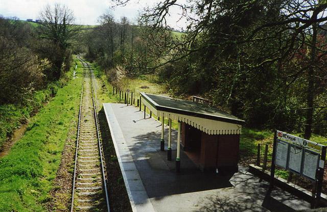 St Keyne: station