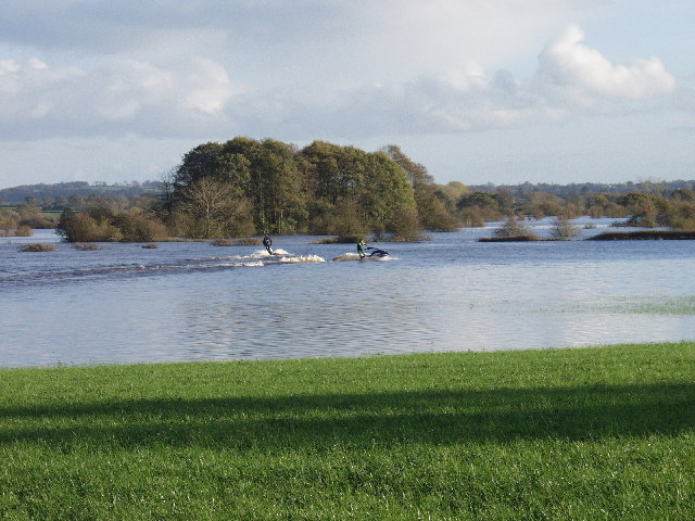 Flood plain doing what it does best