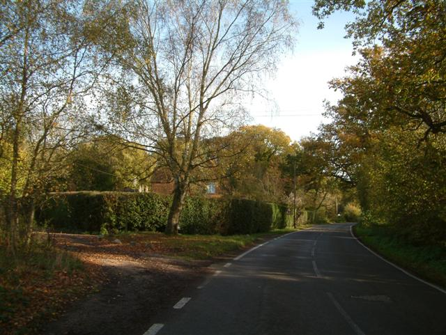 The track to Bramley Church