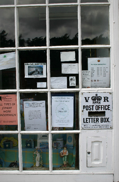 Blanchland Post Office Letter Box
