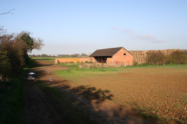 Old byre, near Saltby Airfield