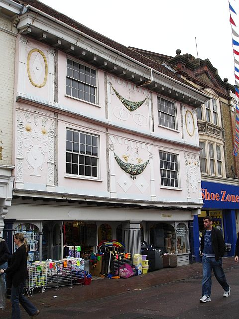 Old shop in Week Street, Maidstone