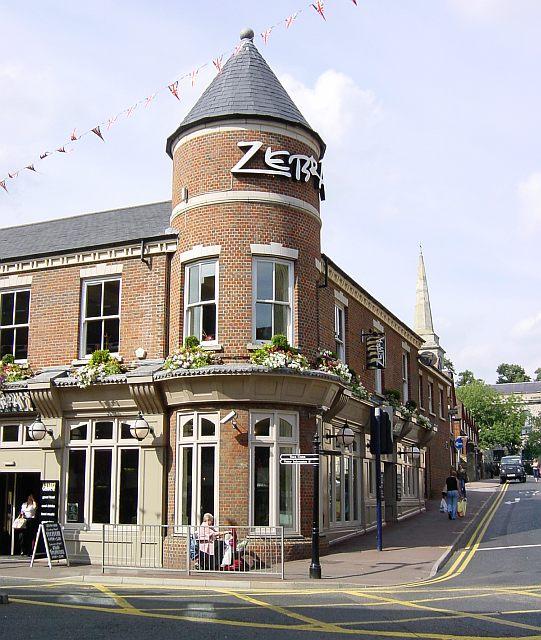 Zebra, King Street, Maidstone