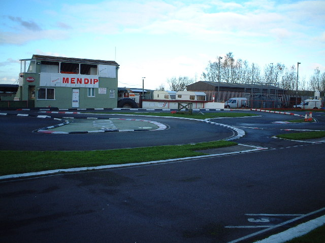 Mendip Model Car Racing Track