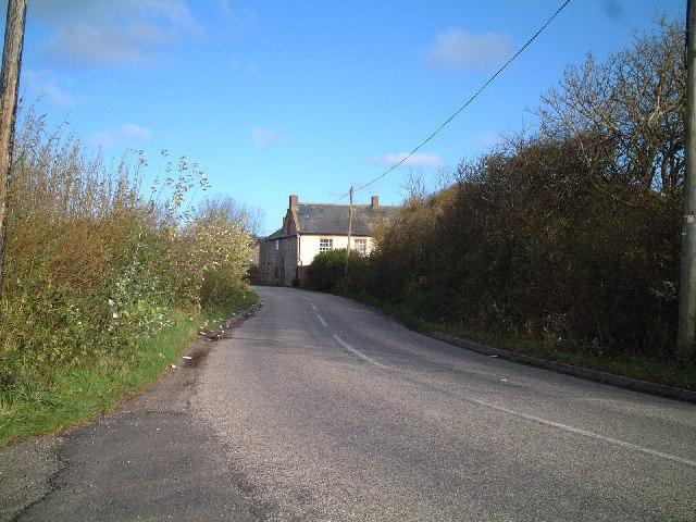 Ham Farm on Ham Road to Brean