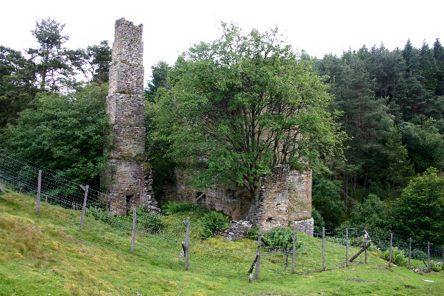 Ruined Engine House near Blanchland