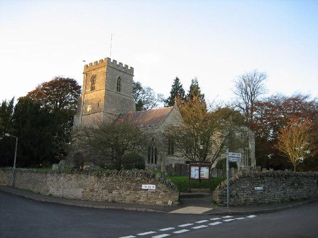 St. Peter & St. Paul Church, Steeple Aston