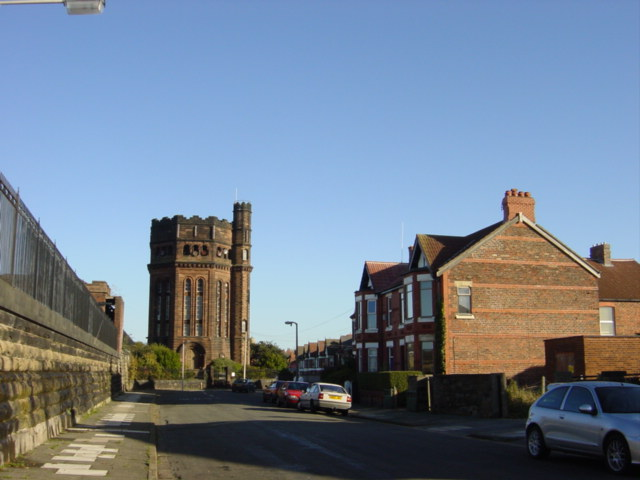 Wallasey Waterworks Tower, New Brighton