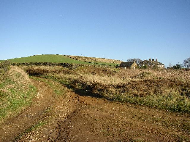 Footpath, Worts Hill and West End, Slaithwaite