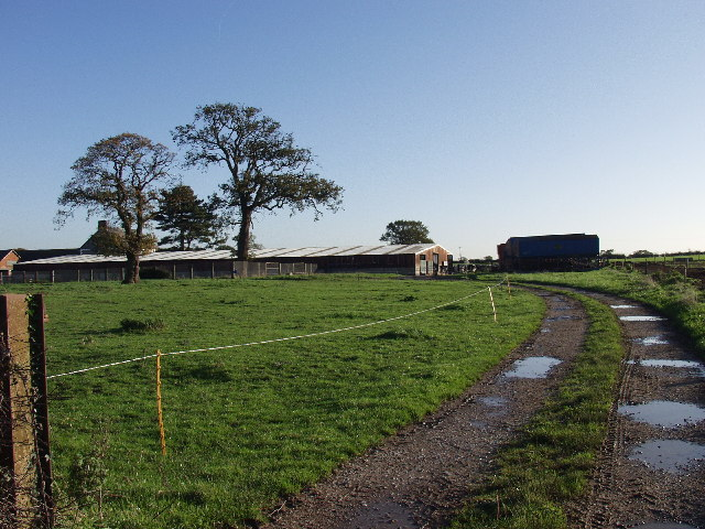 Dairy Farm buildings at  Lower Farm